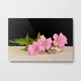 Pink Still life Metal Print