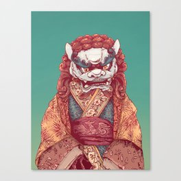 Imperial Guardian Lady Canvas Print