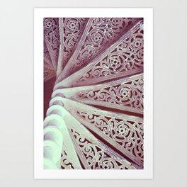 Step down pattern... Art Print
