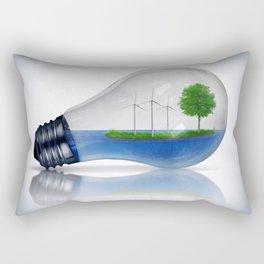 Eco Energy Concept Rectangular Pillow