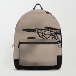 Minimalist jungle landscape Backpack