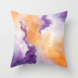 Spooky Galaxy Throw Pillow