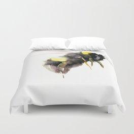 Bumblebee, bee art, bee design Duvet Cover