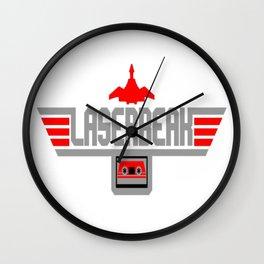 Top Laserbeak Wall Clock