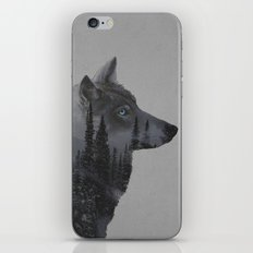 Winter Wolf iPhone & iPod Skin