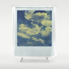 Instant Series: Clouds Shower Curtain