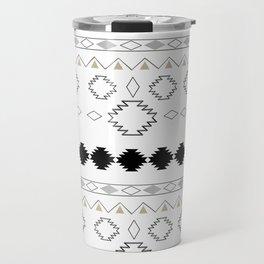 Tribal Boho Pattern Chic #1 #aztec #decor #art #society6 Travel Mug