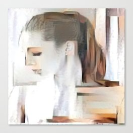 Female Sideview Canvas Print