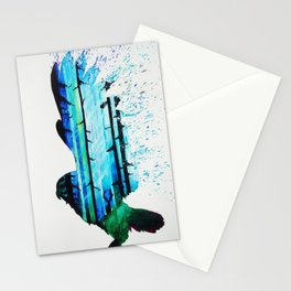 Forest Falcon Stationery Cards