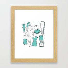 JUANA Framed Art Print