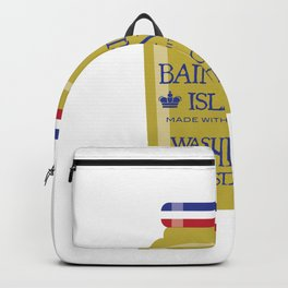 White Whine Backpack