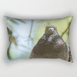Feral Pigeon Rectangular Pillow