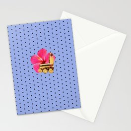 9mm Hibiscus Dots Stationery Cards