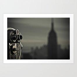 Empire State Building Art Print
