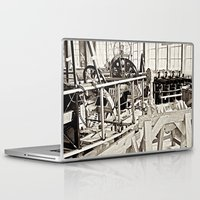 aviation Laptop & iPad Skins featuring Aviation Science by Simmons Universe