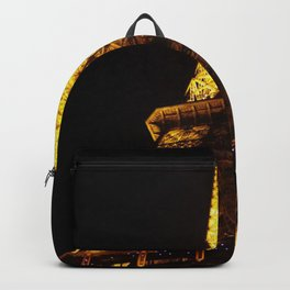 Eiffel Tower at Night Backpack