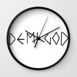 Percy Jackson Demi God Wall Clock