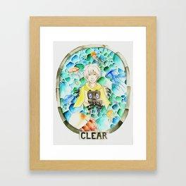 Among the Jellyfish Framed Art Print