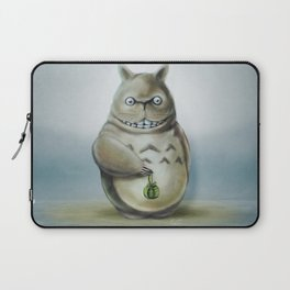 Miyazaki's Totoro - Totoros communis domestica Laptop Sleeve
