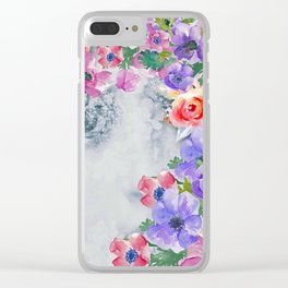 The real flower girl Clear iPhone Case