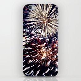 celebration fireworks iPhone Skin