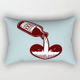F. Scott Fitzgerald Rectangular Pillow