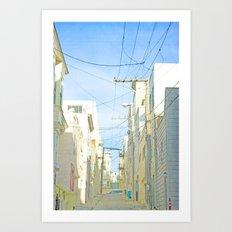 San Francisco Tops 4 Art Print