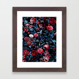 EXOTIC GARDEN - NIGHT X Framed Art Print