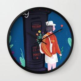 Little Adventure Girl Wall Clock