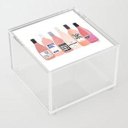 Rose Bottles Acrylic Box