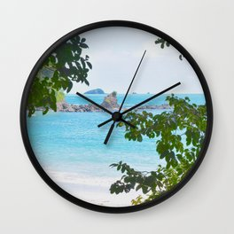 Manuel Antonio Wall Clock