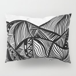Lines in the mountains 06 Pillow Sham