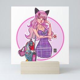Otaku Girl Mini Art Print