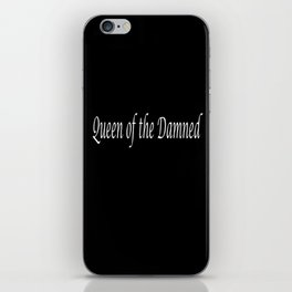 Vampire-Queen of the Damned iPhone Skin