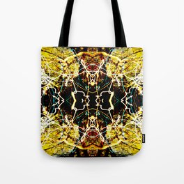 Chaos Tree Kaleidoscope 3 Tote Bag