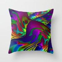 lantern Throw Pillows featuring Lantern by David  Gough