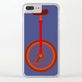 Unicycle Clear iPhone Case