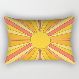 Sun rays Rectangular Pillow
