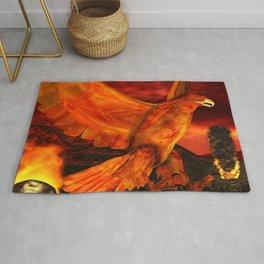 Myth Series 3 Phoenix Fire Rug