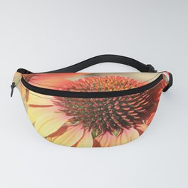 Echinacea Late Summer Bloom by Reay of Light Fanny Pack