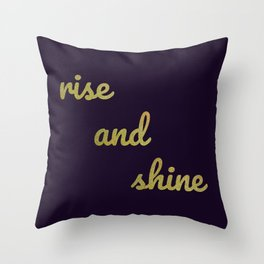 The Positive Quote II Throw Pillow