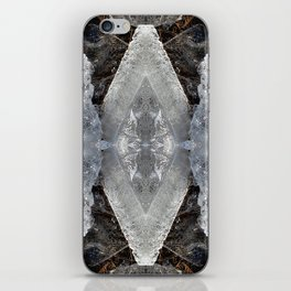 Diamond Ice Jewels Nature Image by Deba Cortese iPhone Skin