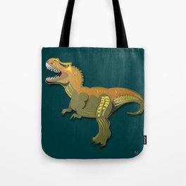 Dinosaur - 'A Fantastic Journey' Tote Bag