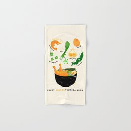 Golden Tempura Udon Hand & Bath Towel
