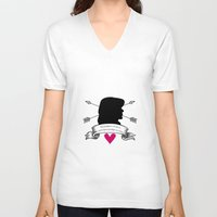 allison argent V-neck T-shirts featuring Allison Argent by smartypants