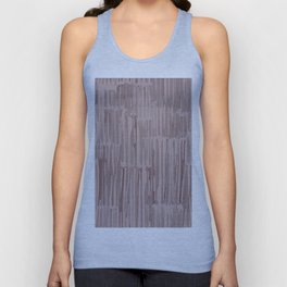 Simply Bamboo Brushstroke Red Earth on Clay Pink Unisex Tank Top