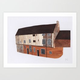 Dragon Hall, Norwich Art Print