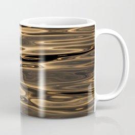 Golden River - Minimalst Photograph Coffee Mug
