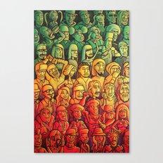 Lazer Light Show Canvas Print