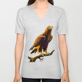 Golden Eagle Unisex V-Neck